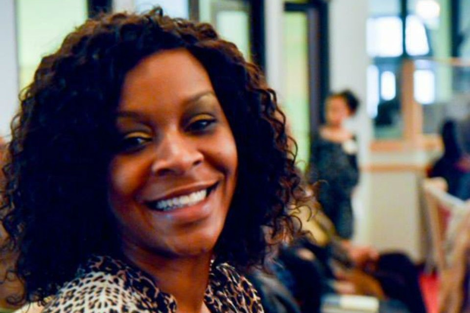Sandra Bland smiling at the camera