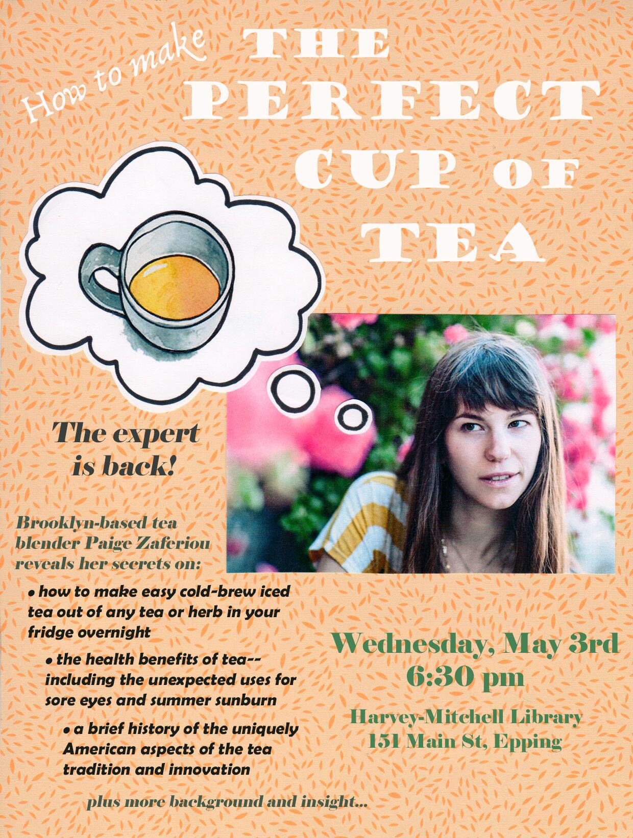 paige tea poster
